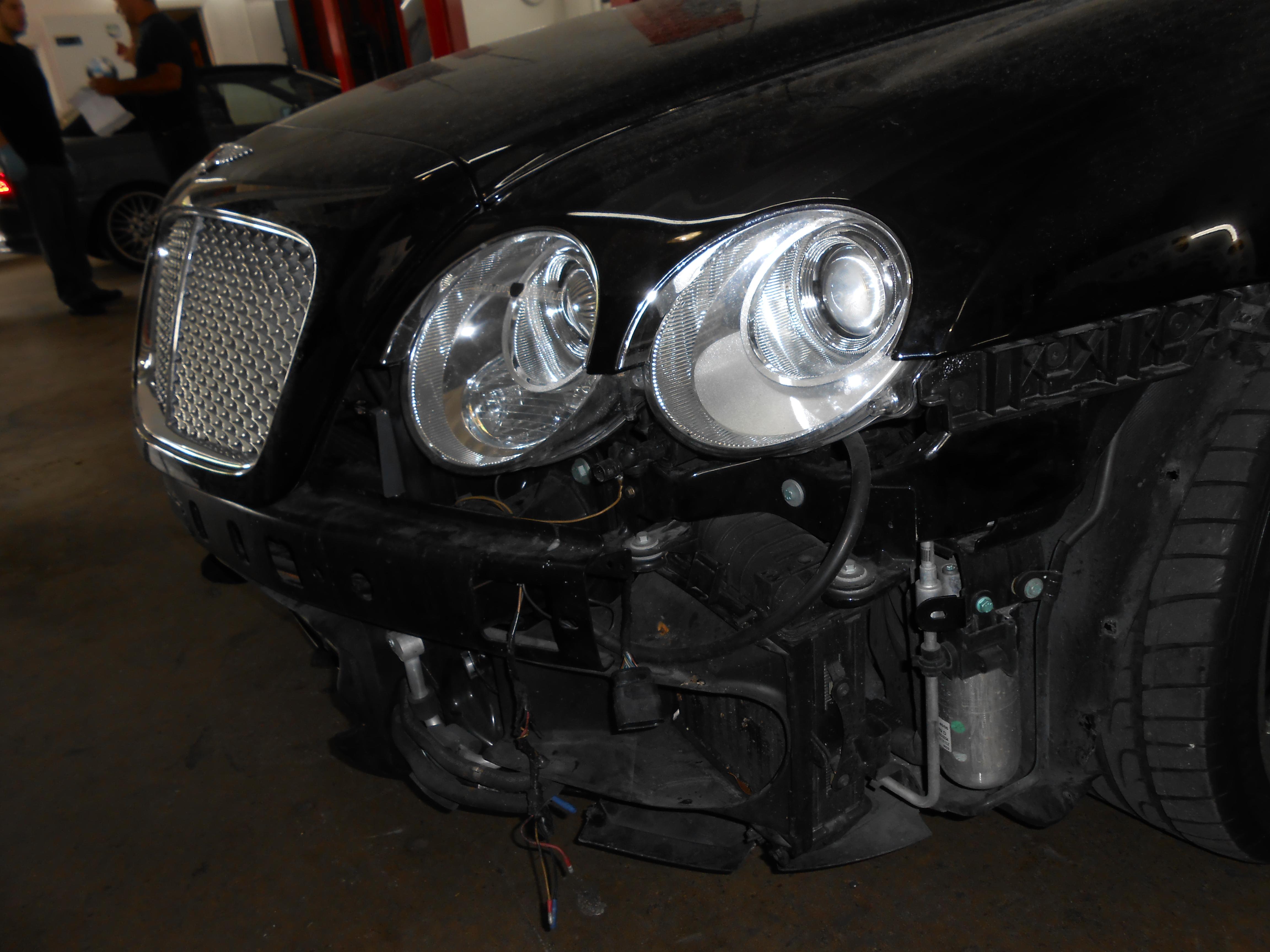 Collision Repair Bentley BMW Mercedes